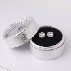 18k White Gold Plated Jewelry Hoop Earings