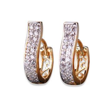 Crystals Cubic Zirconia Earings