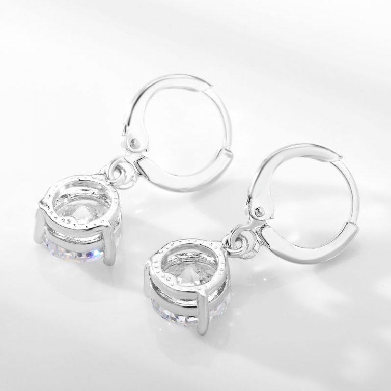 Cubic Zircon Copper Jewelry Set