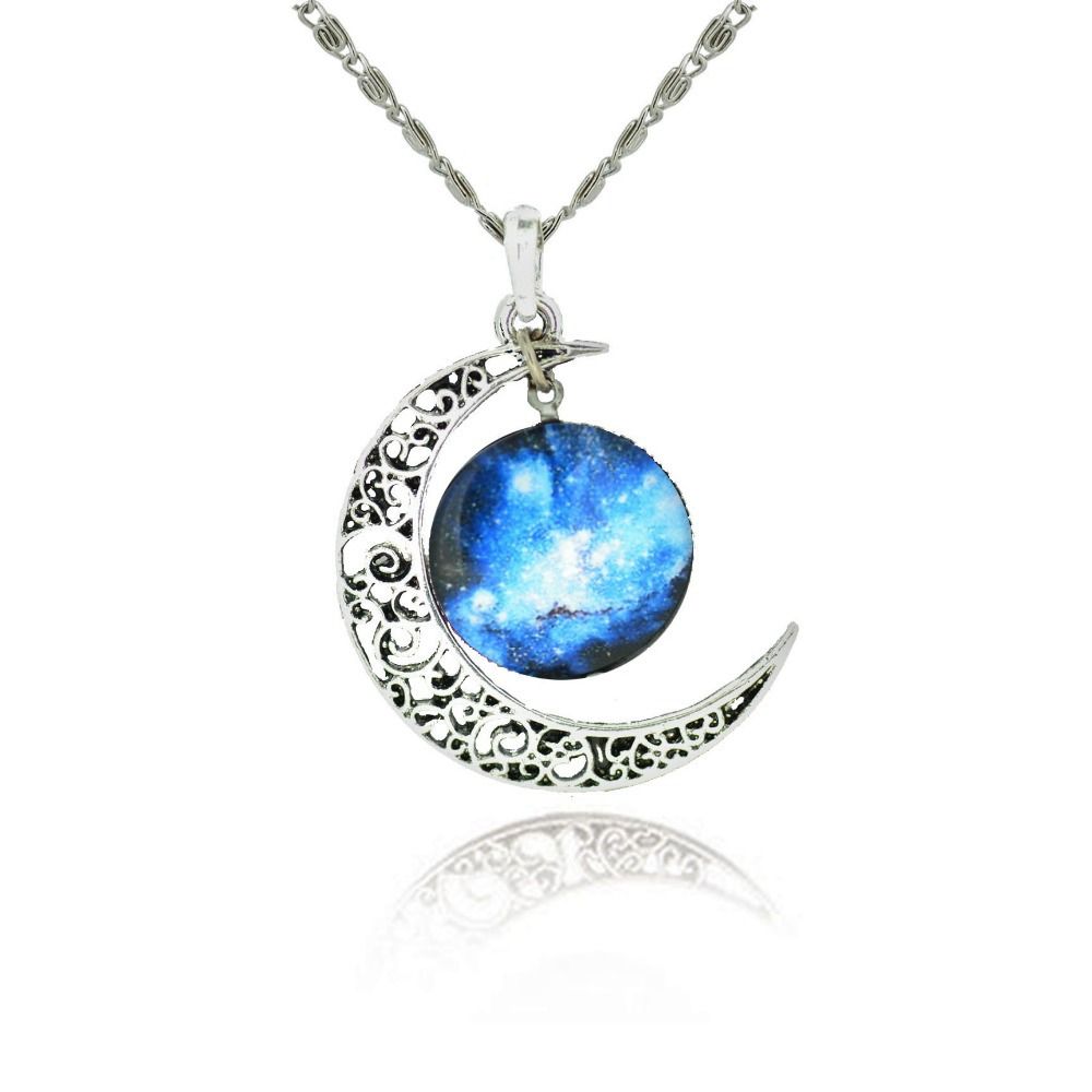 Moon Statement Necklace Ace Gems
