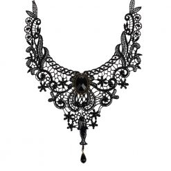 Gothic Vintage Lace Collar Necklace
