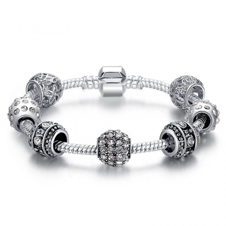 Bead charm bracelets