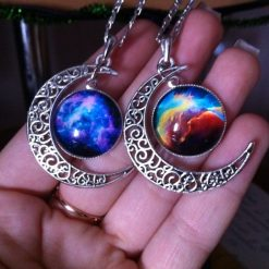 Moon Statement Necklace