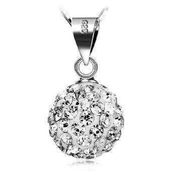 Silver plated Shambhala pendant