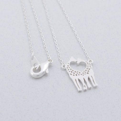 Loving Giraffes Necklace
