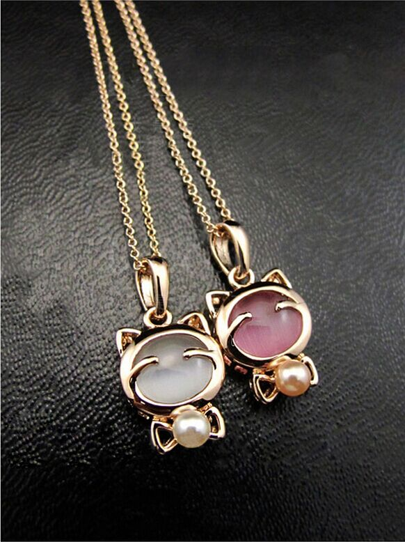 Cat Statement Necklace