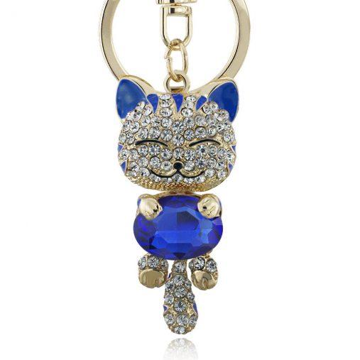Smile Cat Keychain
