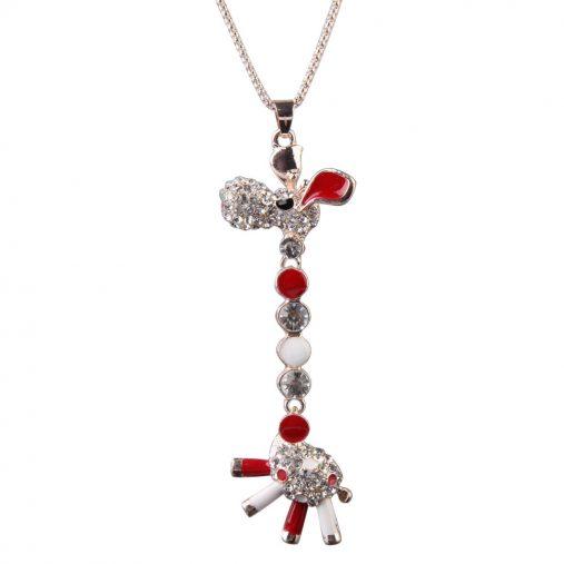 Cute Style Giraffe Necklace