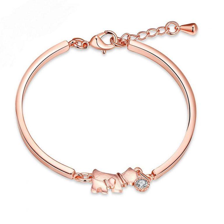 Dog Bracelet Rose Gold Bracelet