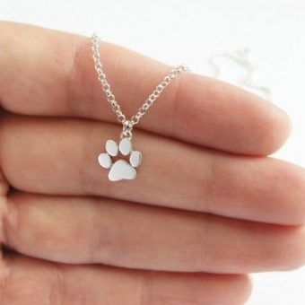Dogs Paws Necklace