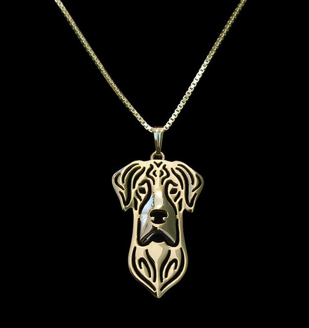 Great Dane Portrait Pendant