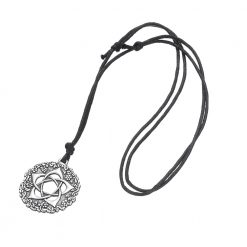 Star Rose Wicca Pendant