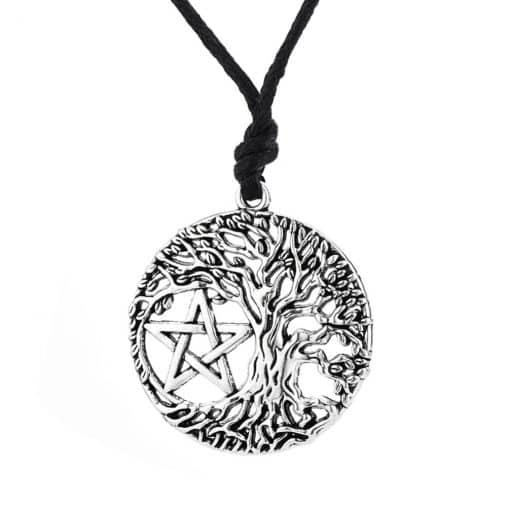 Tree of Life Pentacle Pendant