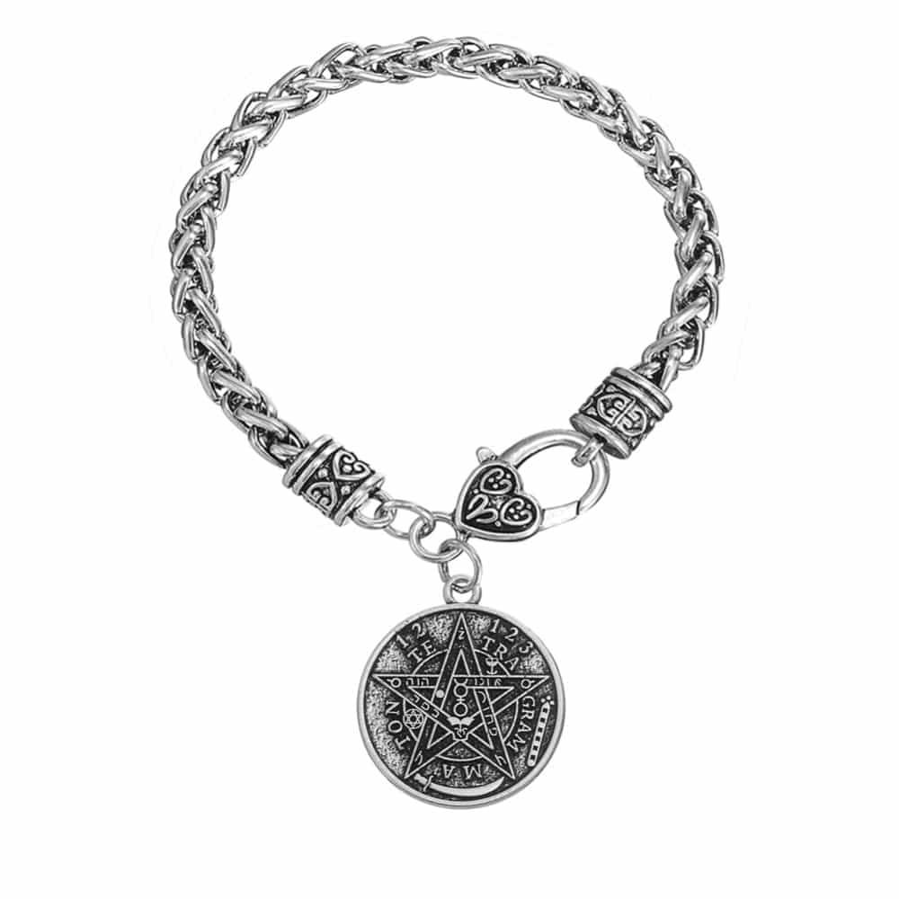 Tetragrammaton pagan bracelet ace gems home aloadofball Images