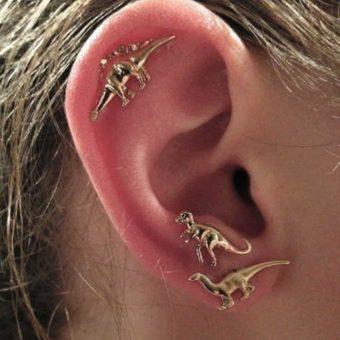 Jurassic Dinosaur Earrings