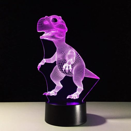 Dinosaur 3D Illusion Lamp