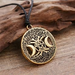 Wiccan Triple Goddess Pendant