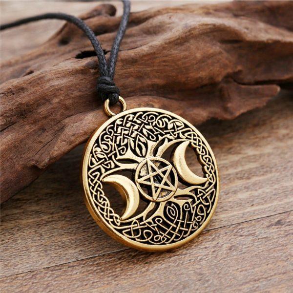 Wiccan Triple Goddess Pendant