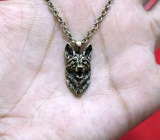 German Shepherd necklace