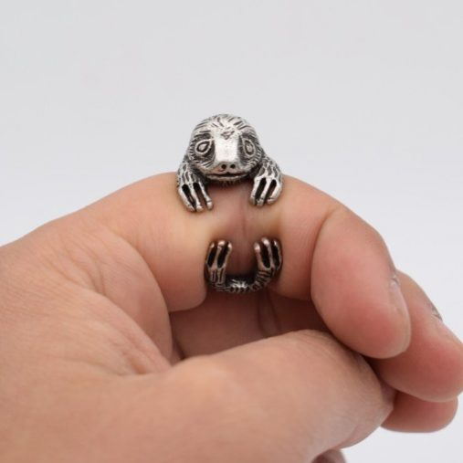 Vintage Sloth Ring