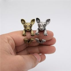 Chihuahua Adjustable Vintage Rin