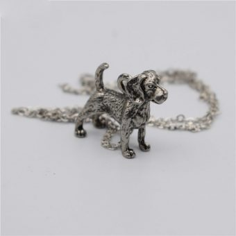 Ace Gems Beagle Necklace