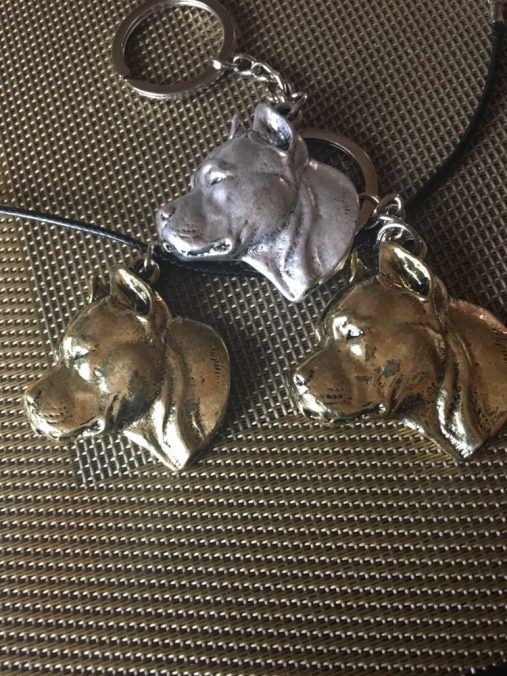 American Staffordshire Terrier Keychain / Necklace