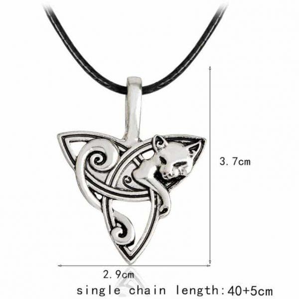 Viking Cat Necklace