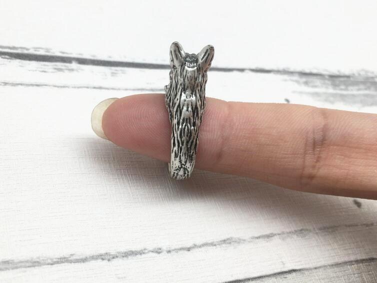 German Shepherd ring Resizable