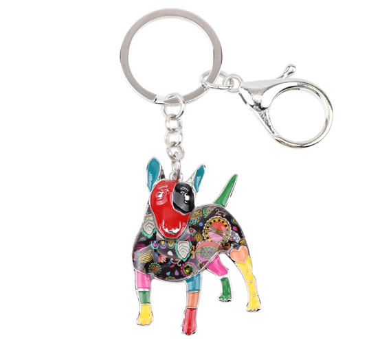 High Quality Bull Terrier Key Chain