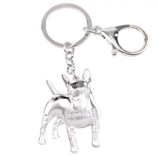 High Quality Bull Terrier Key Chain