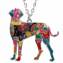 New Great Dane Colorful Pendant