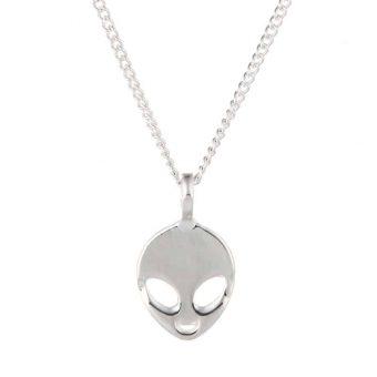 Glaube an dich selbst und Aliens Halskette