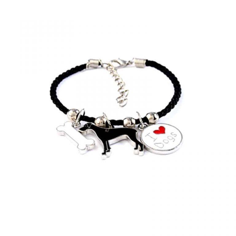 Great Dane Rope Bracelet