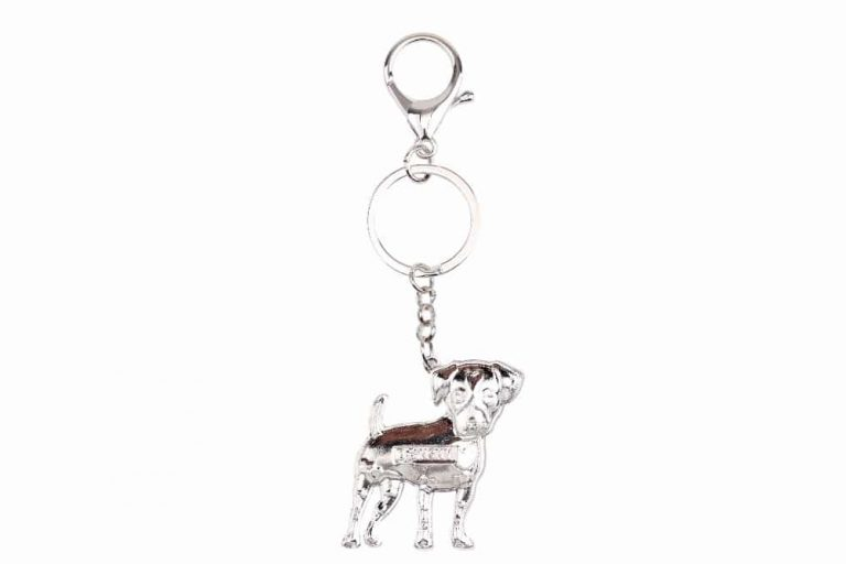 Colorful Jack Russell Keychain