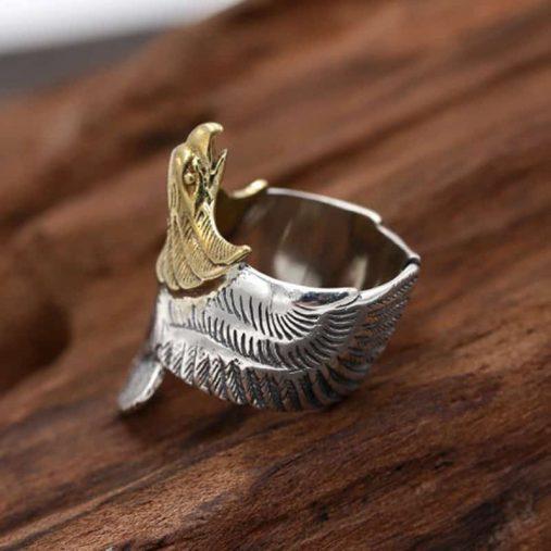 Ace Gems Eagle Ring