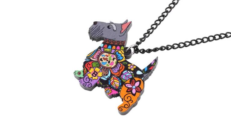 High Quality Scottish Terrier Necklace