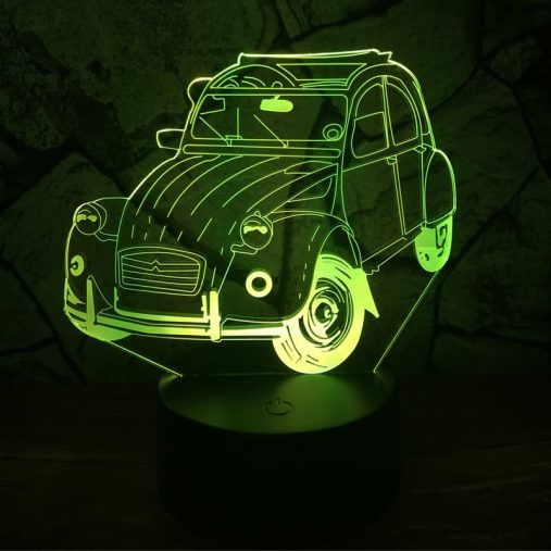 2CV 3D Illusion Lamp