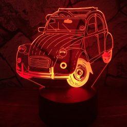 2CV 3D-Illusionslampe