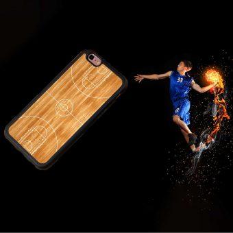 Basketballplatz iPhone Hülle