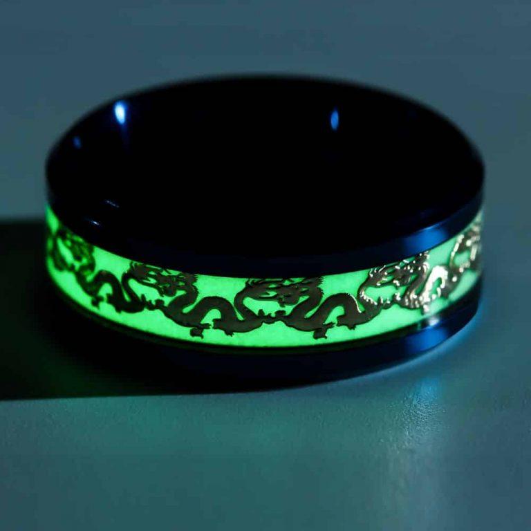 Glowing Dragon Ring