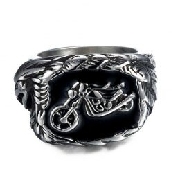 Motorbike Eagle Ring