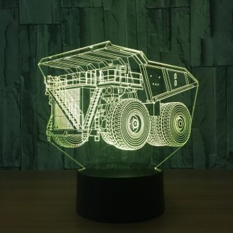 Haul Truck 3D Illusion Lamp