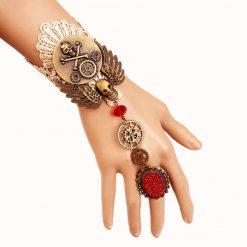 Steampunk Skull Bracelet