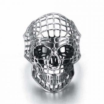Hollow Skull Ring