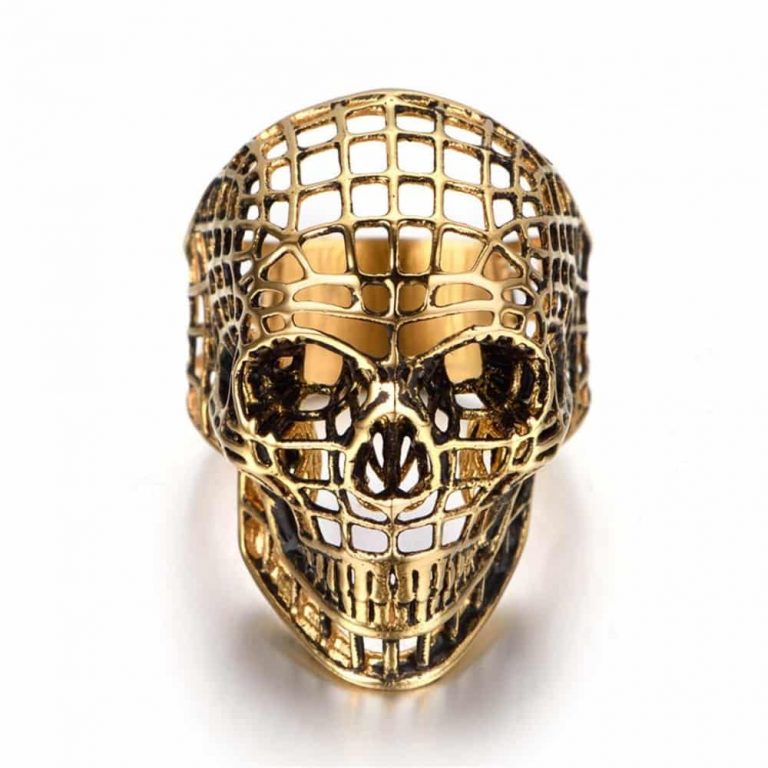 Hollow Skull Ring