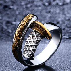 Samurai Sword Ring