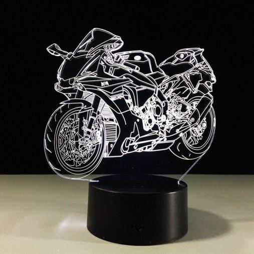 Yamaha YZF R1 Superbike 3D Illusion Lamp