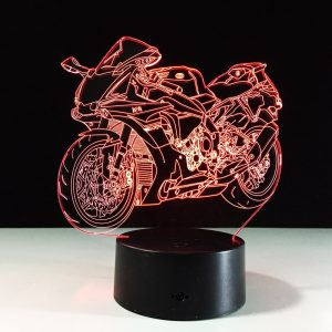 Yamaha YZF R1 Superbike 3D Illusion Lamp