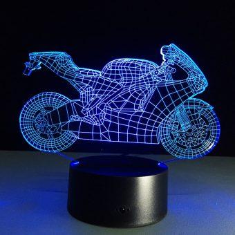RVS Superbike 3D Illusion Lamp